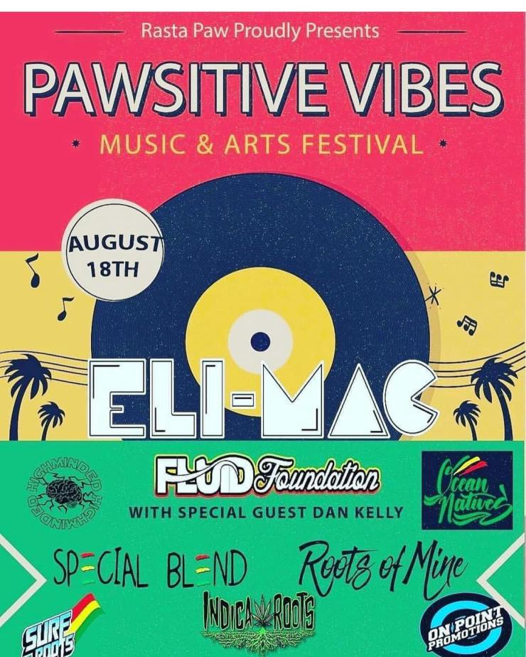 Pawsitive Vibes, Roots of Mine, Eli MAC, Fluid Foundation, Special Blend, Ocean Natives