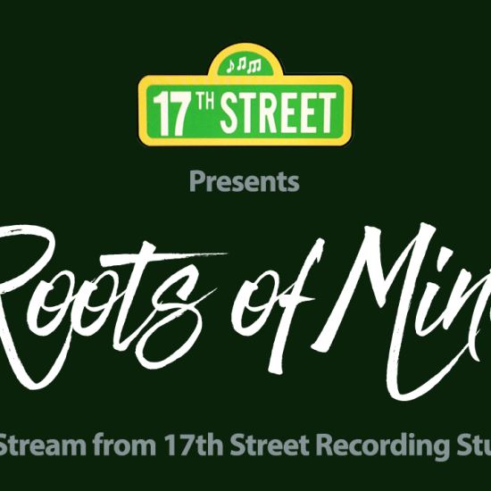 Roots of Mine Live Stream from 17th Street Recording Studios