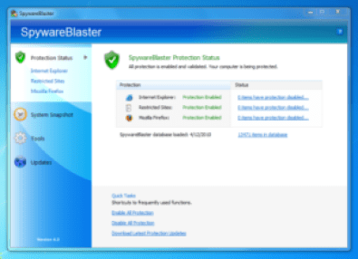 SpywareBlaster 5.4 Crack License Key Full Download