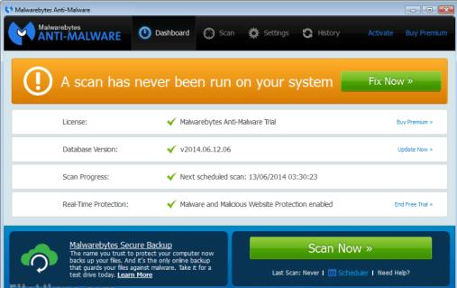 Malwarebytes 3.0.6 key Premium Full Version