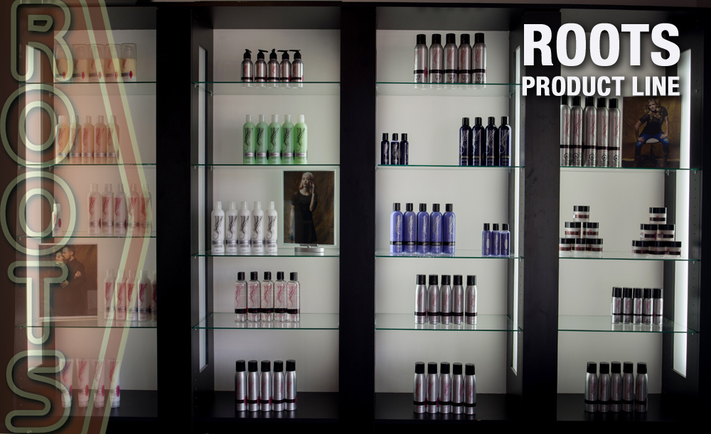 Roots The Salon, Products