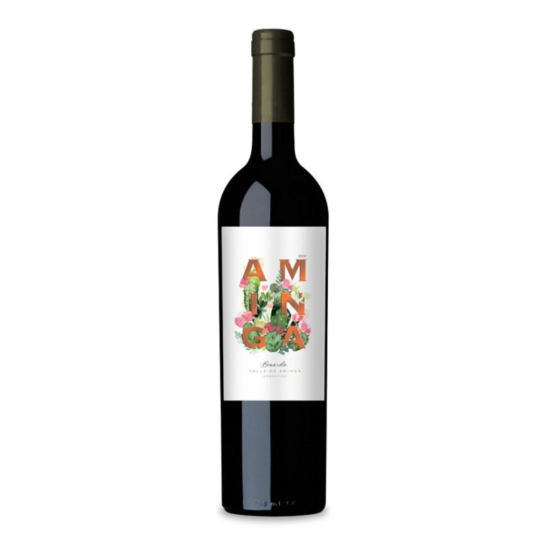 Vinho Argentino Aminga Estate Bonarda 2019