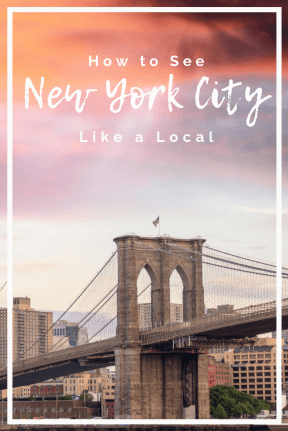 How to See New York City Like a Local