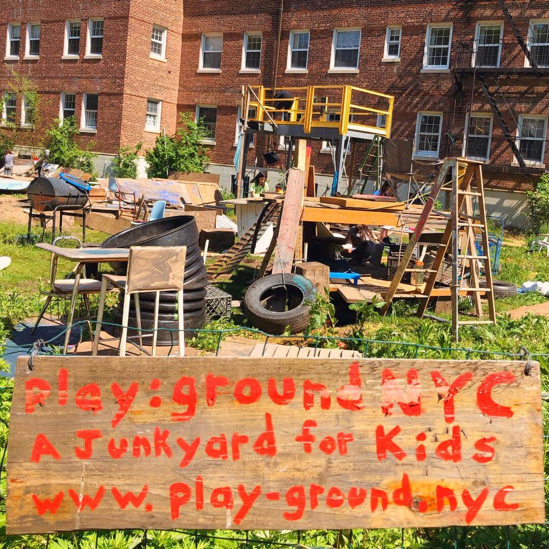 The Junk Playground Of New York City >> The Yard On Governors Island An Adventure Playground In New York City