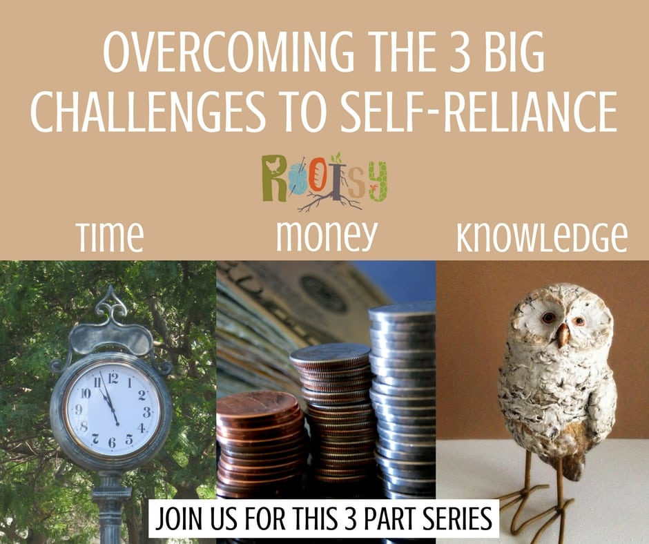 Overcoming the 3 big challenges to self-reliance