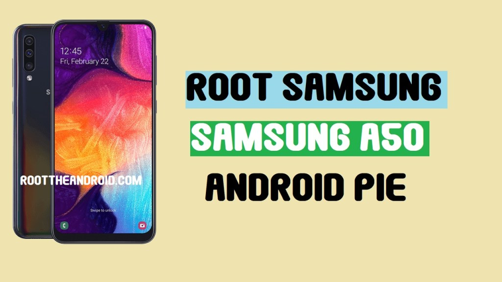 Root Samsung Galaxy A50