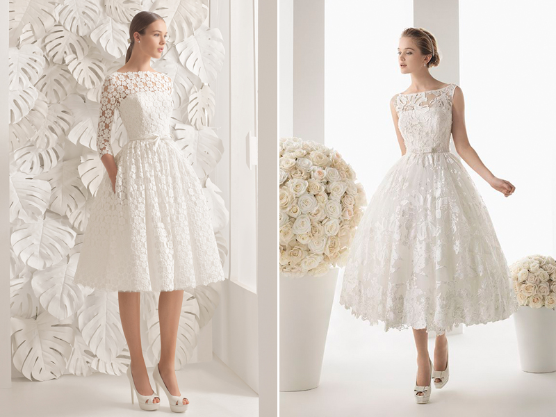 Modern Short Wedding Dresses For Stylish Brides