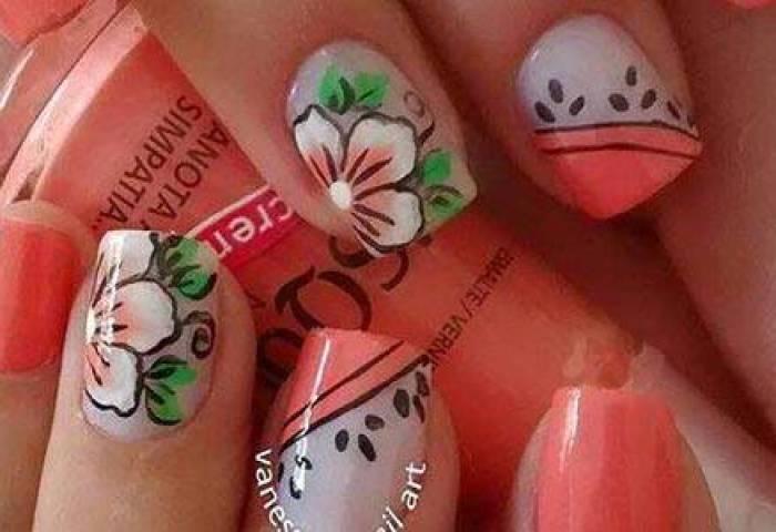 Decoración De Uñas Con Flores Más De 30 Diseños Florales