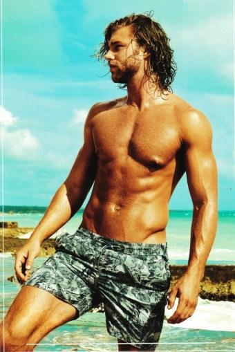 Bañador David Mare para Hombre tipo bermuda
