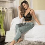 pijama-tres-piezas-satin-encaje-top-pantalon