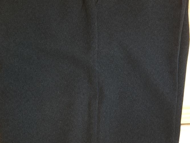 tejido invierno pantalones de vestir para hombre con pinzas