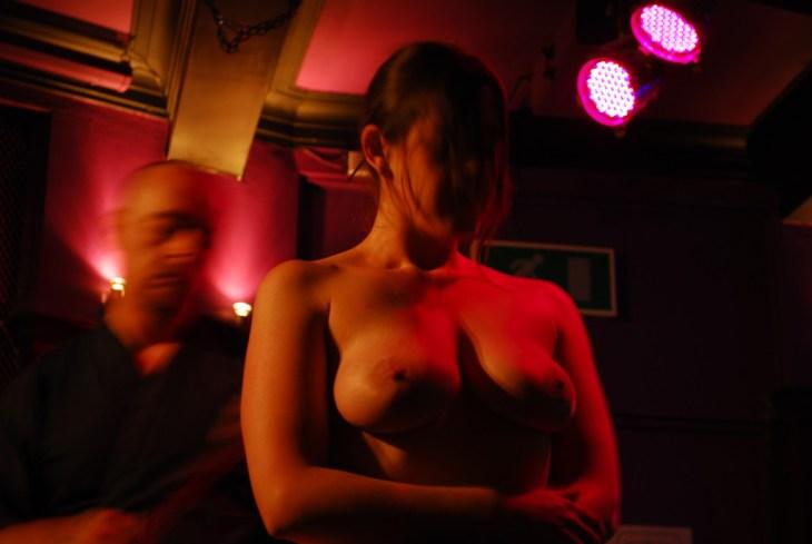 Shibari bondage with Clover in London
