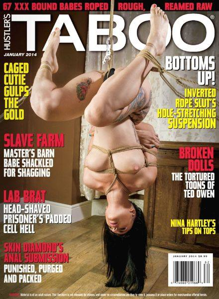 Shibari bondage magazine cover image Taboo, Nina Hartley, Skin Diamond