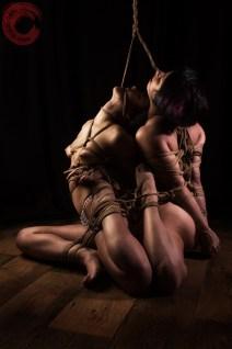 Gorgone and Fuoco kuzushi-nawa shibari bondage