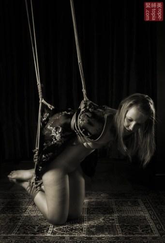 Shibari bondage predicament