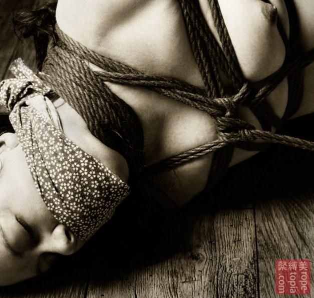 Acceptance in shibari bondage