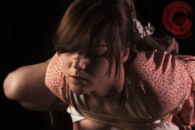 Within shibari bondage.