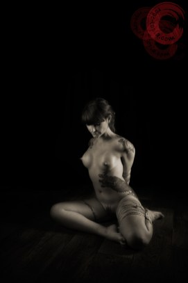 Shibari, bondage, floorwork