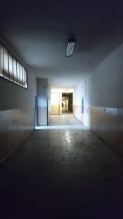 Lots of corridores in Prague shibari intensive location.