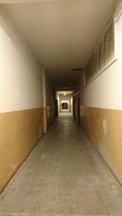 Corridore in location for Prague shibari intensive.
