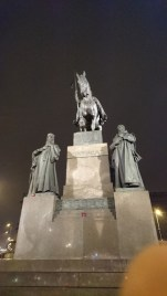 Statue of St. Wenceslas in Wenceslas Square