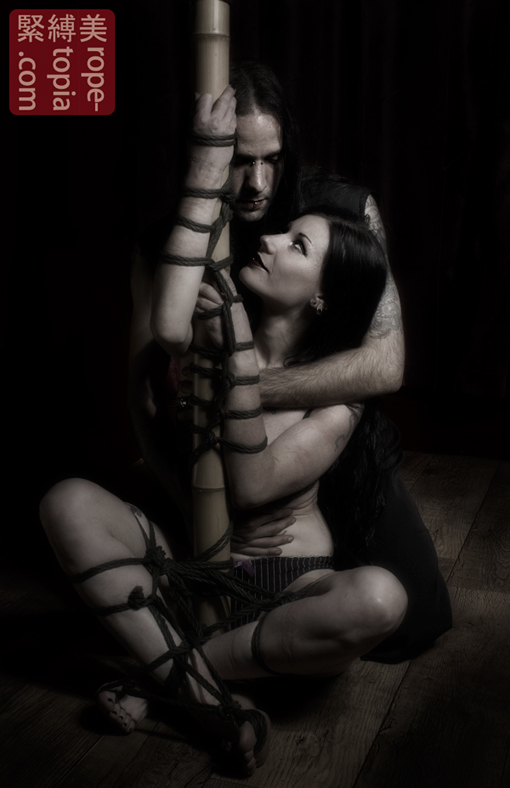Helpless in love shibari