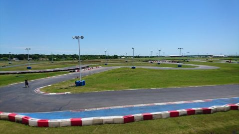 The karting track