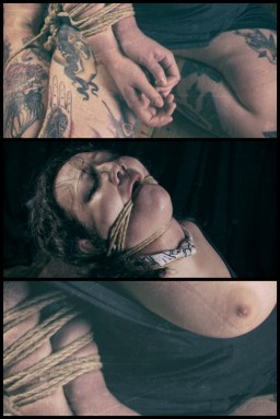 Sophia Shibari tryptic