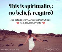This is spirituality meetings