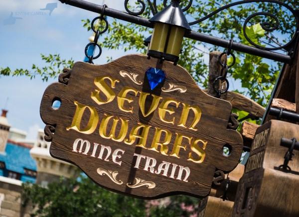 Mine Train Sign