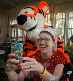 Elyssa and Tigger Selfie