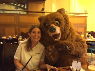 Sometimes, dealing with clients can be a bear (Sharla's picture, John's joke)