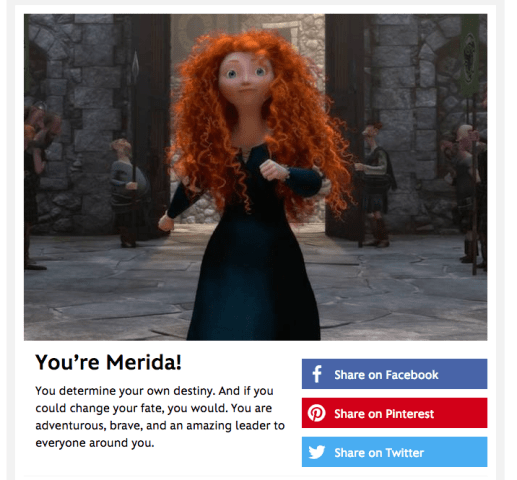 Elyssa is Merida