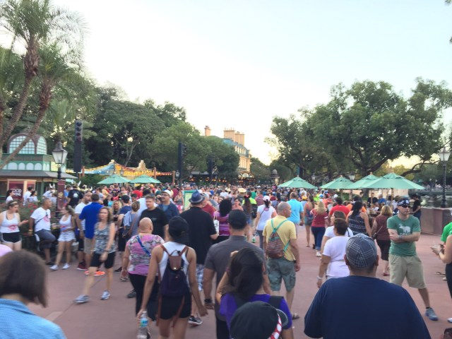 Won't Epcot be Nicer without all these People?