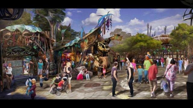 Pongu Pongu - Artwork courtesy of Disney