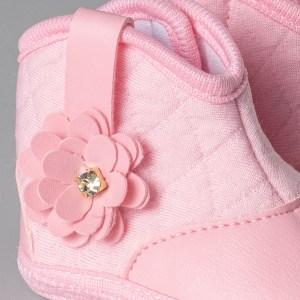 bota bebe rosa