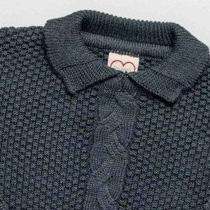 poncho infantil tricot