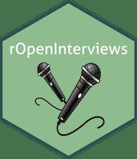 rOpenInterviews hex logo
