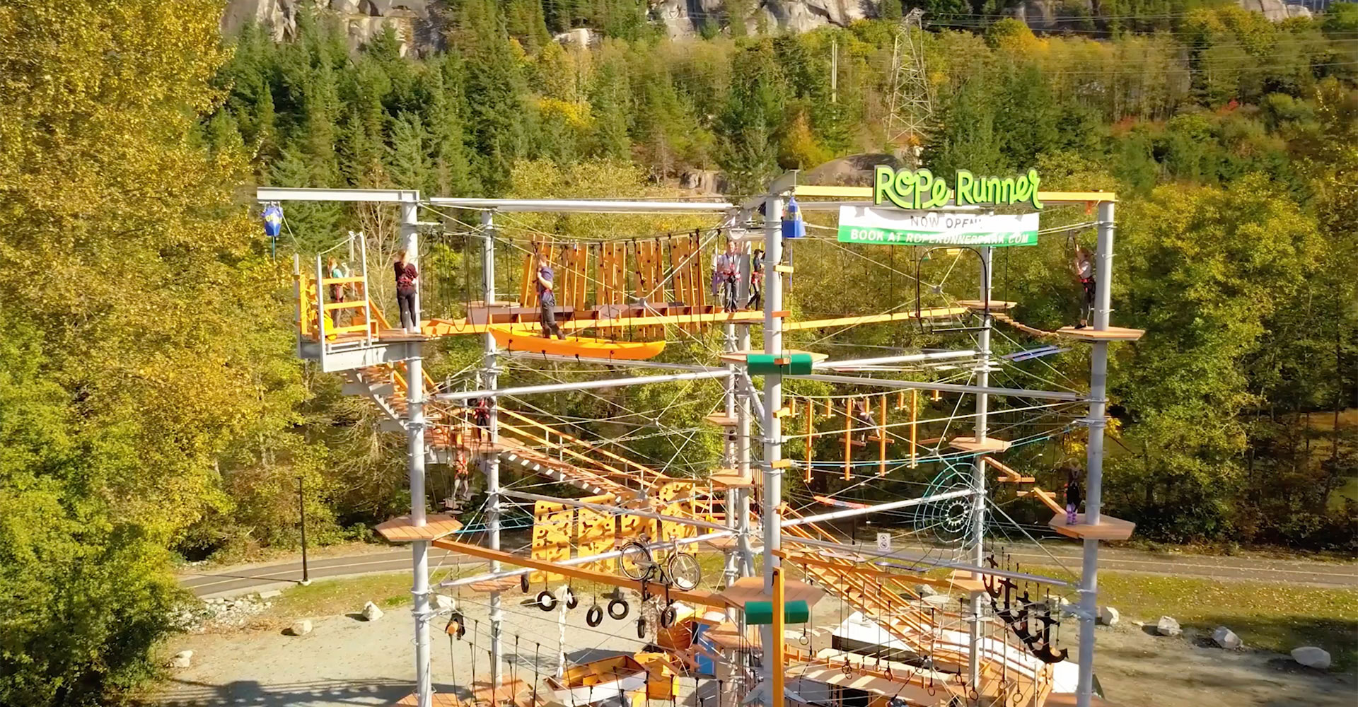 rope runner aerial park squamish homepage video cover