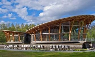 Rope runner location squamish adventure center cta