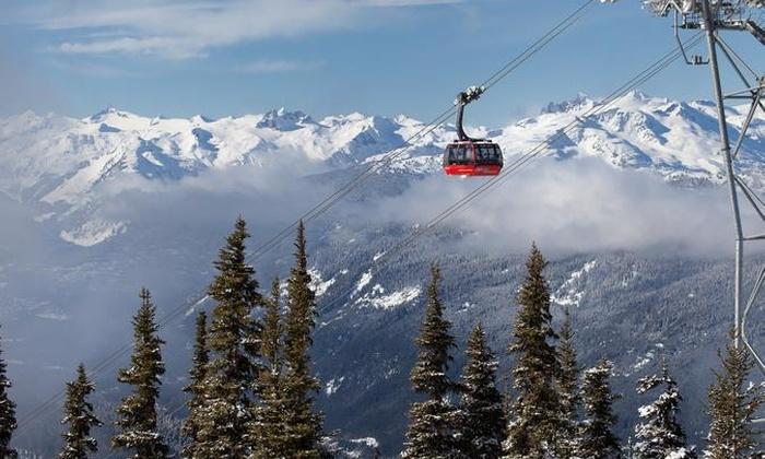peak2peak gondola whistler canada