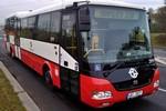 Papercraft recortable del autobus SOR BN12 (DP Praha, 3999). Manualidades a Raudales.