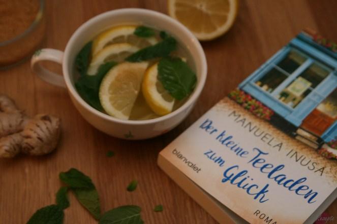 Lauries Lieblingstee: Ingwer-Zitronen-Minze-Tee - Der kleine Teeladen zum Glück