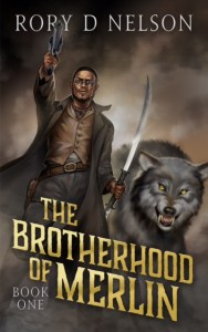 Official Cover - The Brotherhood of Merlin: Book One