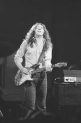 Rory Gallagher c1977 Manchester Free Trade Hall by Steve Smith (2)