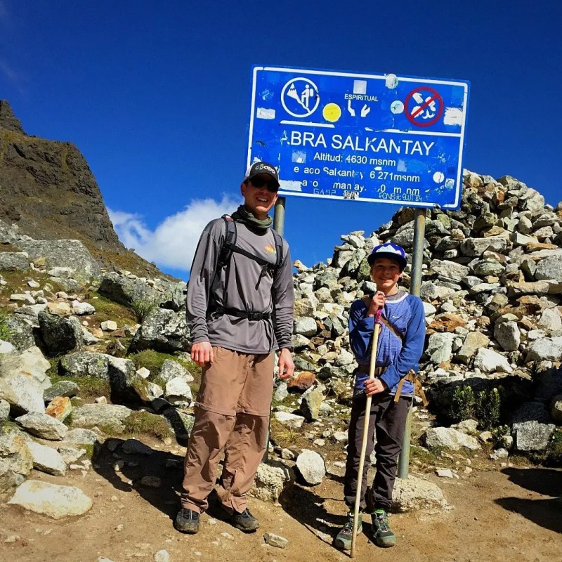 Trekking the Salkantay to Machu Picchu <i>con Refugios</i>