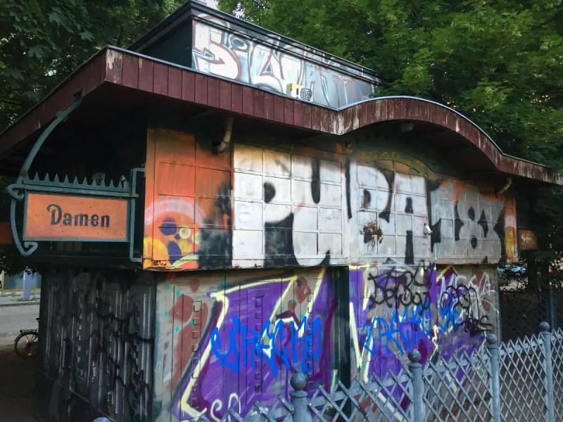 2018 European travel review: Prenzlauer Berg park bathroom.