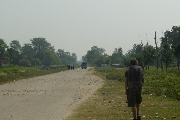 frontière népal