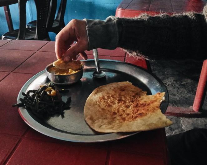 Un petit dej en Assam