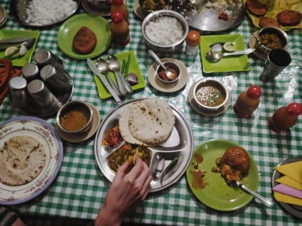 Manger vegetalien en Inde du nord